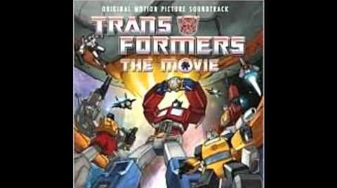 1986 Transformers The Movie Soundtrack Hunger by Specter General