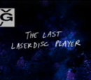 Son Lazerdisk Oynatıcı