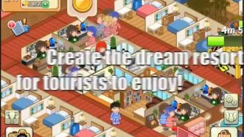 Hotel Story Preview Trailer for iPhone iPad Android