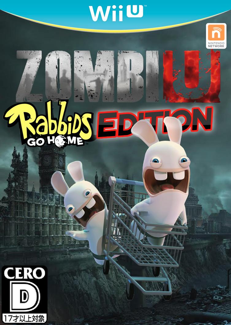 zombiu  rabbids go home edition - fantendo