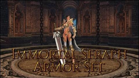 Dragon's Prophet Immortal Seraph Armor Set Female
