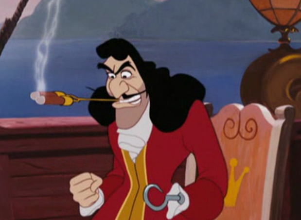 Capitaine crochet wiki walt disney le monde magique de - Peter pan et capitaine crochet ...