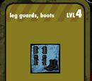 Leg Guards, Boots