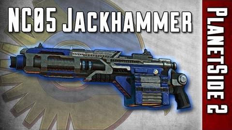 NC05 Jackhammer Weapon Review - PlanetSide 2