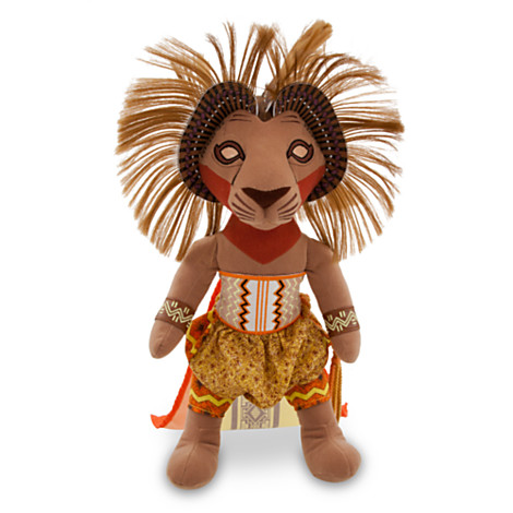 Simba Plush The Lion King The Broadway Musical Jpeg