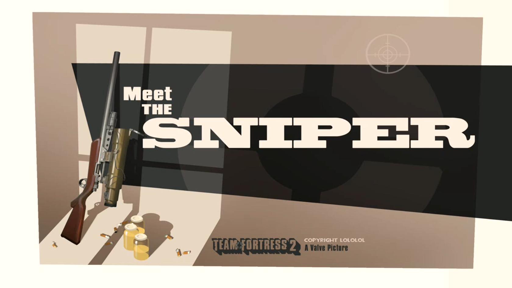 tf2 meet the sniper fr