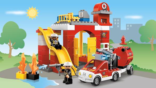 6168 la caserne des pompiers wiki lego. Black Bedroom Furniture Sets. Home Design Ideas