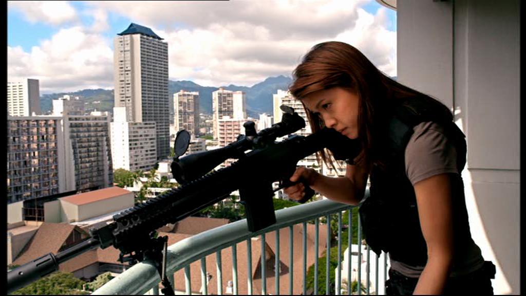 Kono manning her sniper rifle. From the Hawaii Five-0 Season 2/NCIS ...