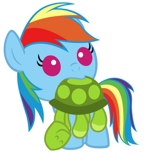 Baby Rainbow Dash Png File Fanmade Baby Rainbow Dash