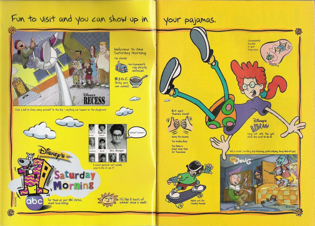Disney S One Saturday Morning Disney Wiki