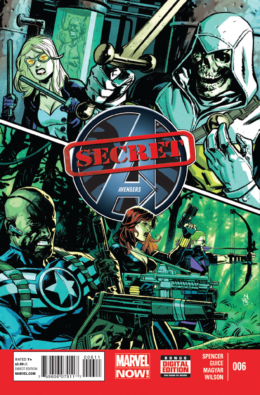 secret avengers vol 2 6 marvel comics database. Black Bedroom Furniture Sets. Home Design Ideas