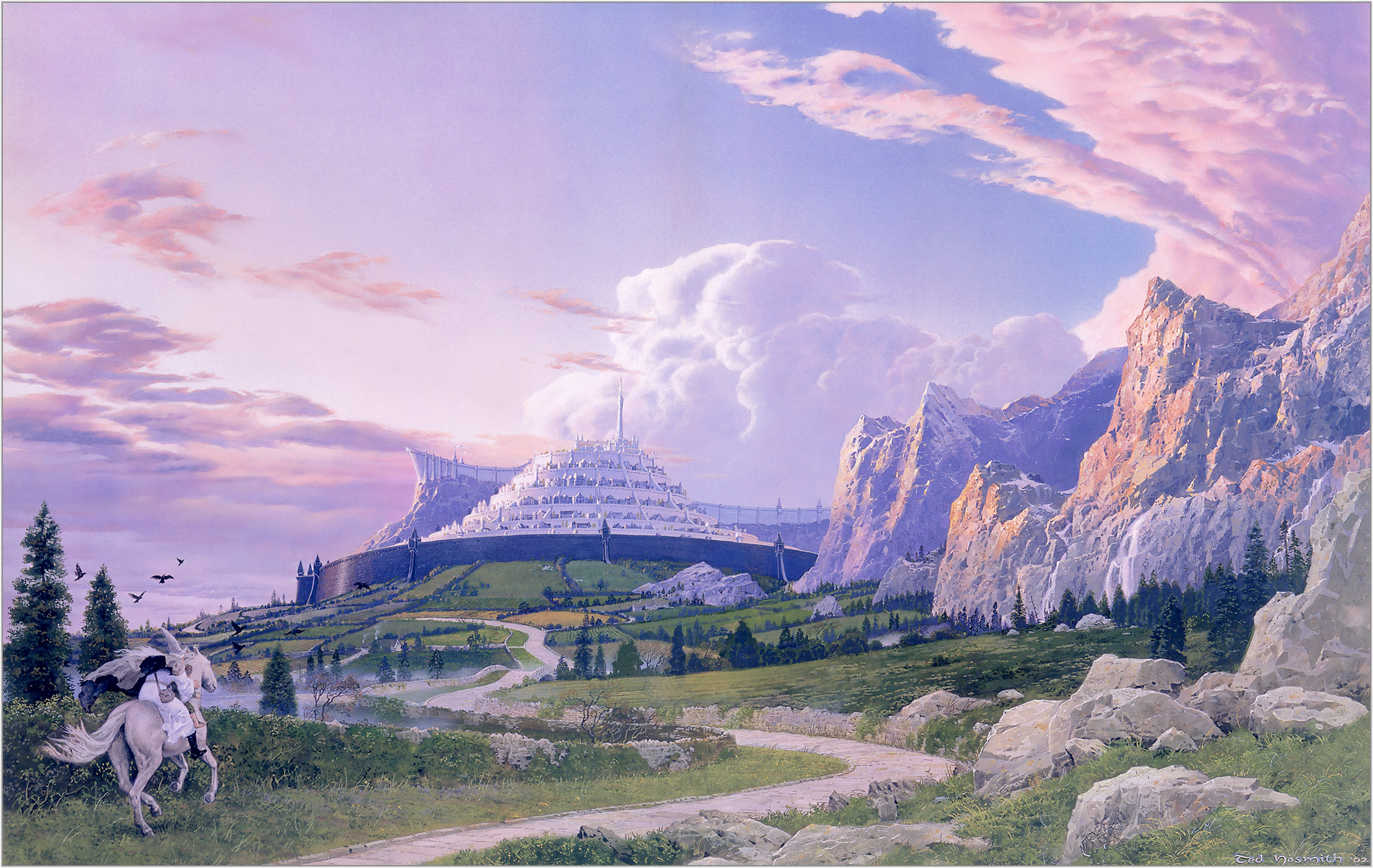 What Direction Did Gandalf And Pippin Approach Minas Tirith From