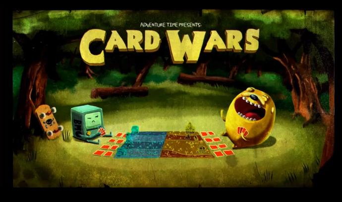 Episodio 14 – La Guerra de las Tarjetas | Hora de Aventura