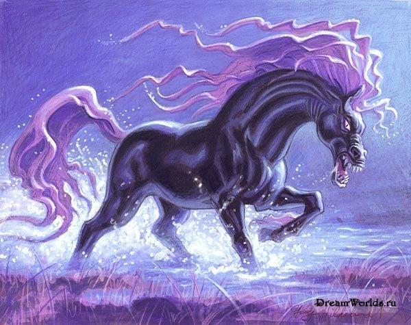 Mythical water horses - photo#28