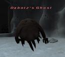 Dabotz's Ghost