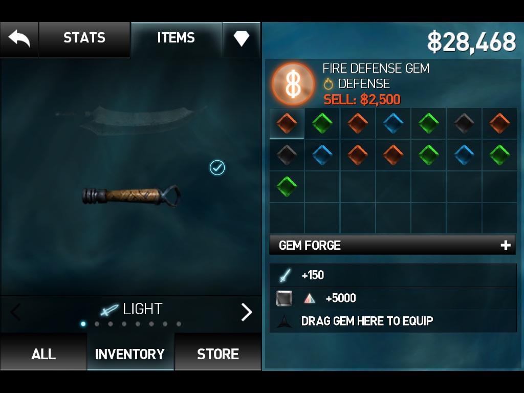 how to make spectrum defense gem ib3