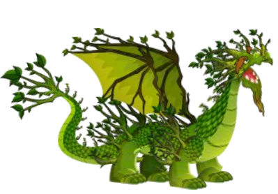 Deep Forest Dragon City