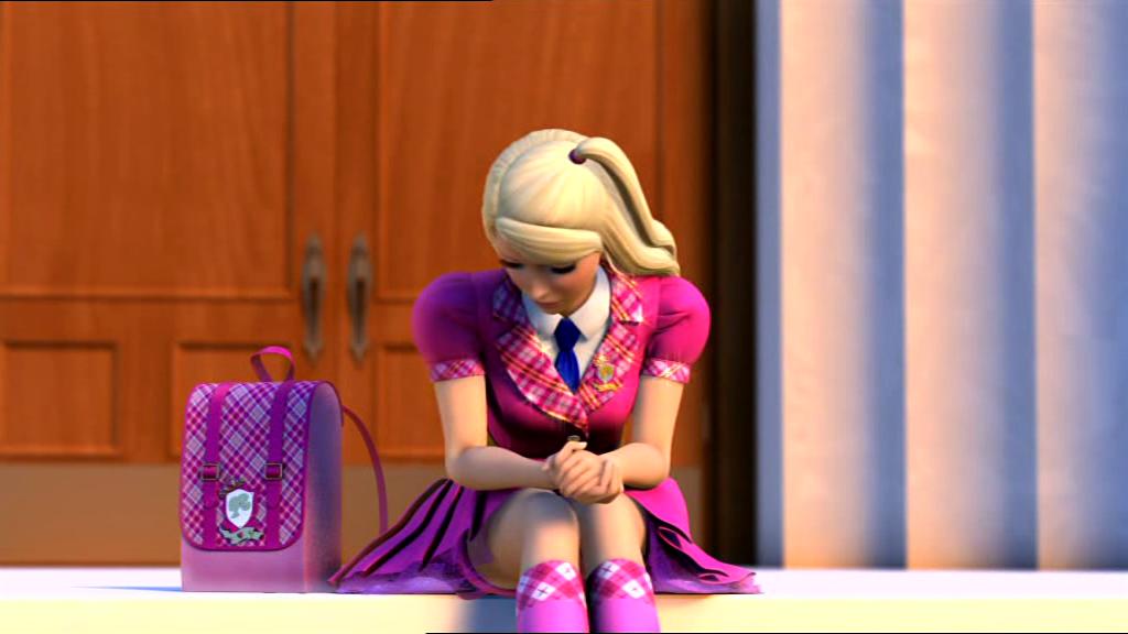 Barbie Princess Charm School Blair Willows Hair