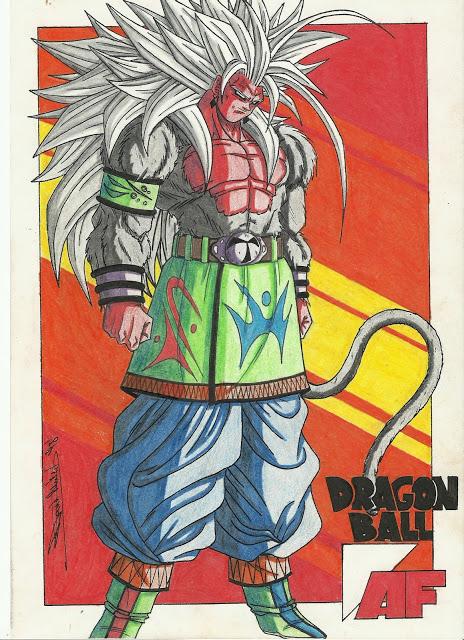 Super saiyan 5 dragon ball af fanon wiki - Goku super sayan 5 ...