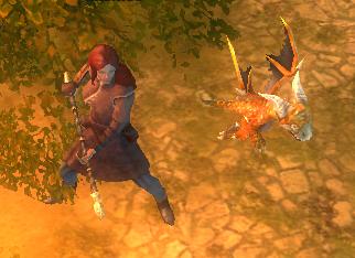 Дракенсанг Онлайн - Огнечешуйчатый драконёнок