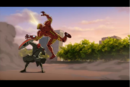 Iron Man pushed by Red Skull.png