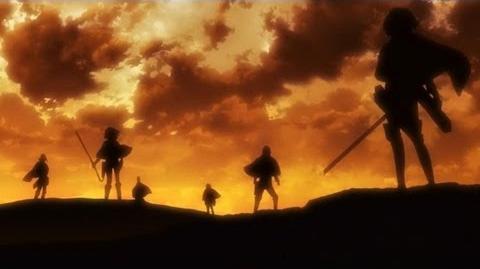 Shingeki no Kyojin OP 2 【Jiyuu no Tsubasa】