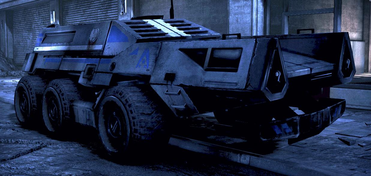 Mass Effect 3 Vehicles: Wiki Vehículos De Juegos
