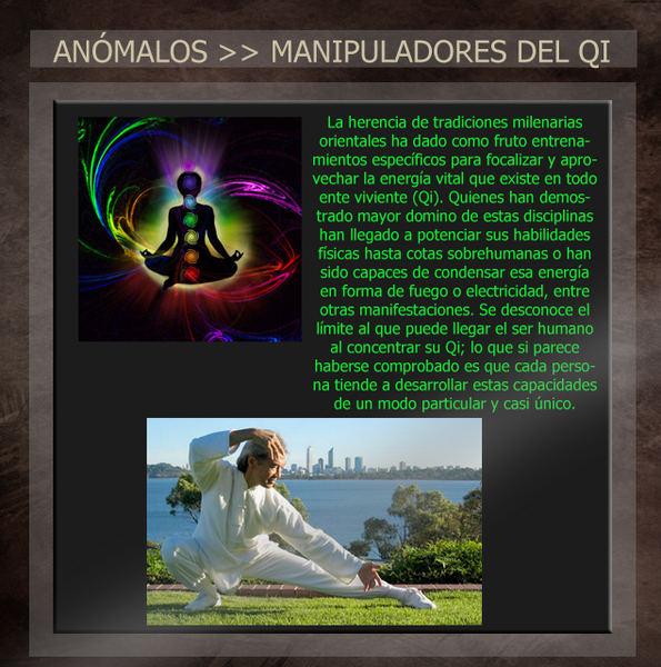 Anómalos: personas con habilidades sobrenaturales Qicopy