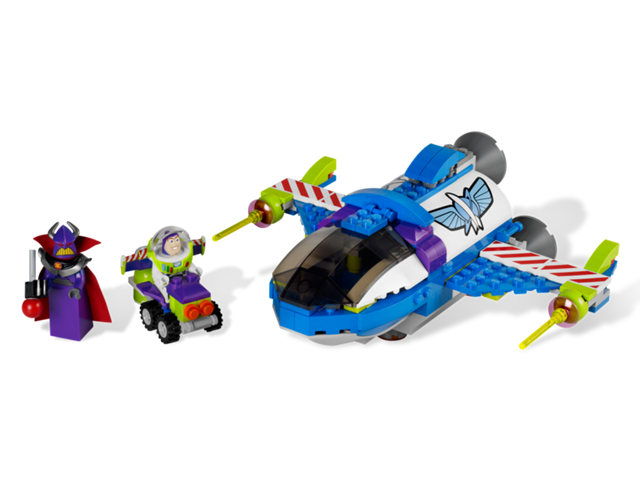 7593 le vaisseau spatial de buzz wiki lego. Black Bedroom Furniture Sets. Home Design Ideas
