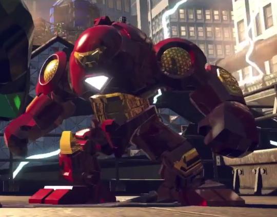 Lego Iron Man Mark 43 Hulkbuster