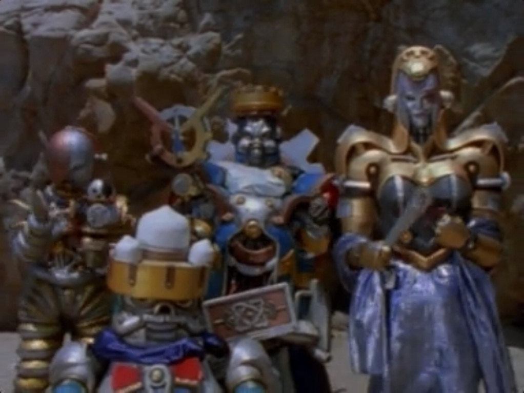 power rangers zeo machine empire