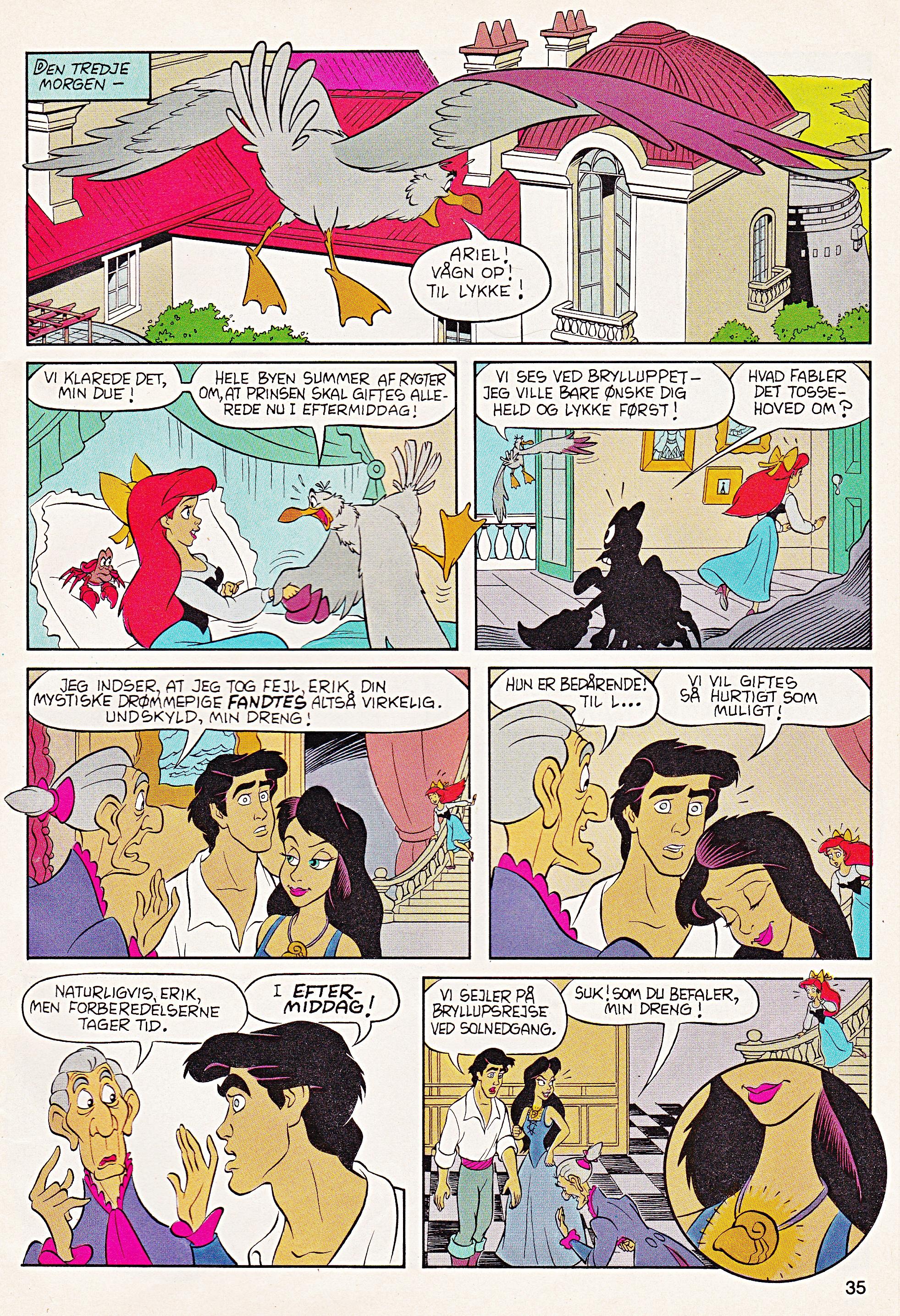 Disney Comics Characters