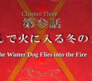 The Winter Dog Flies into the Fire