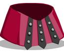 Crimson Gladiator Skirt
