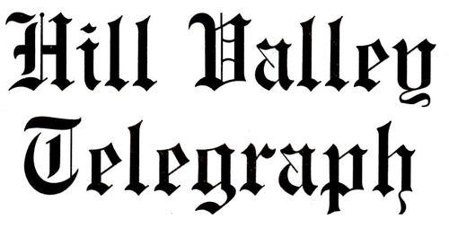 hill valley telegraph - futurepedia - the back to the future wiki