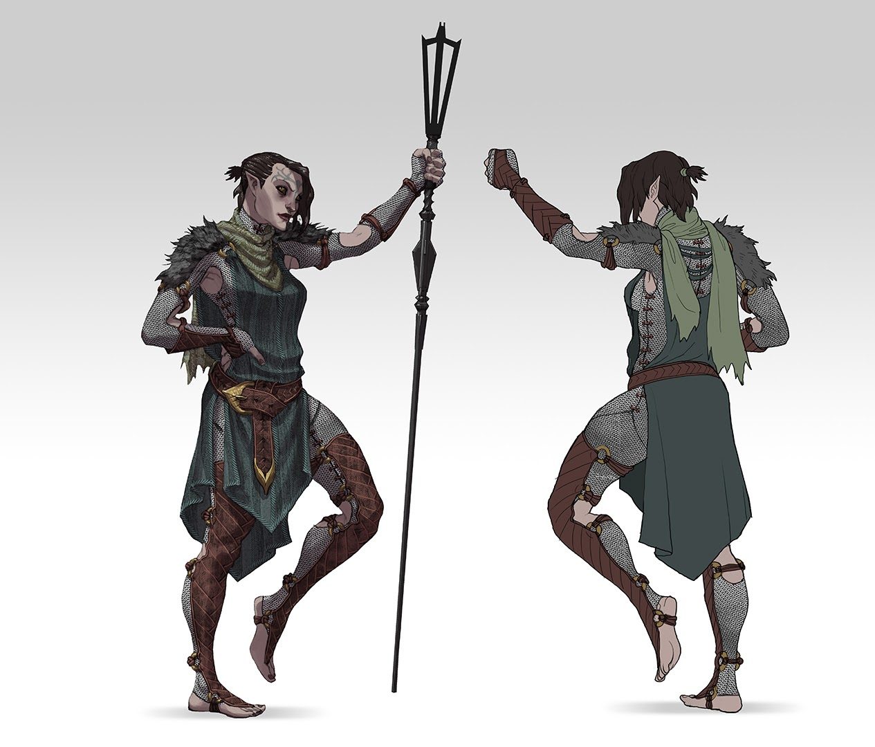 Anders Dragon Age Concept Art Concept art of Merrill for
