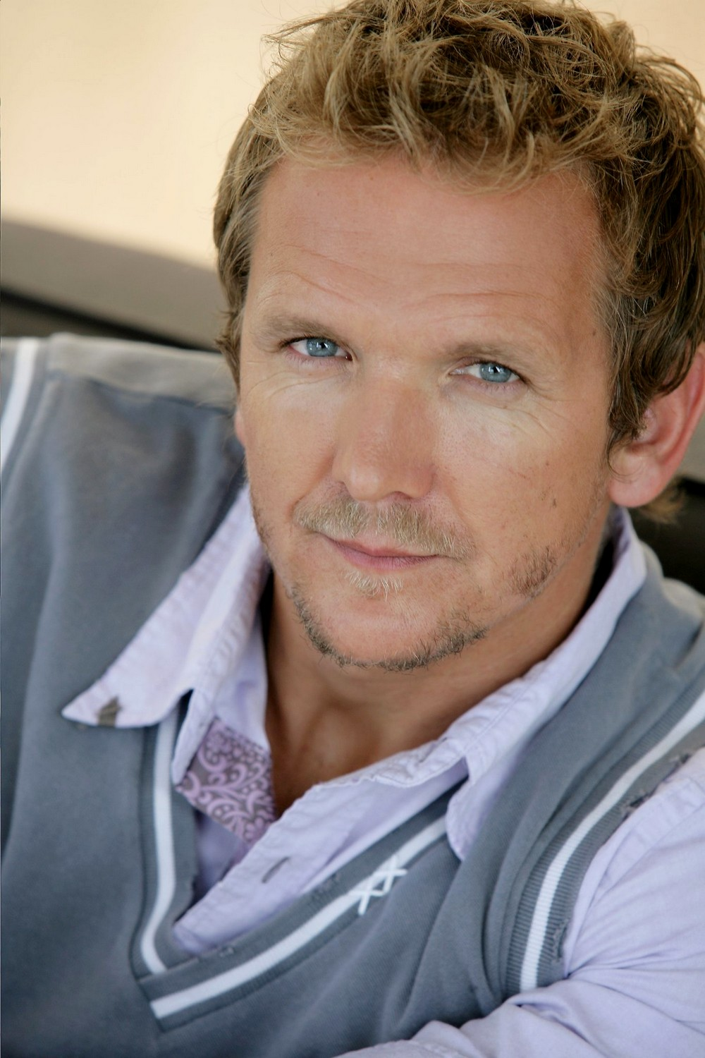 The 53-year old son of father (?) and mother(?), 180 cm tall Sebastian Roché in 2017 photo