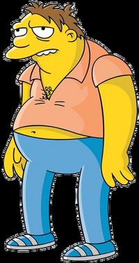Barney Gumble - shading