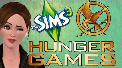 SIMS 3 HUNGER GAMES! HOTDOG Eating Champion!!! 8