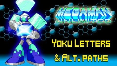 Mega Man Unlimited Walkthrough (Yoku Letter Locations & Alt. Paths)