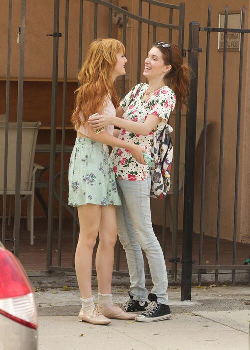 Bella Thorne laugh