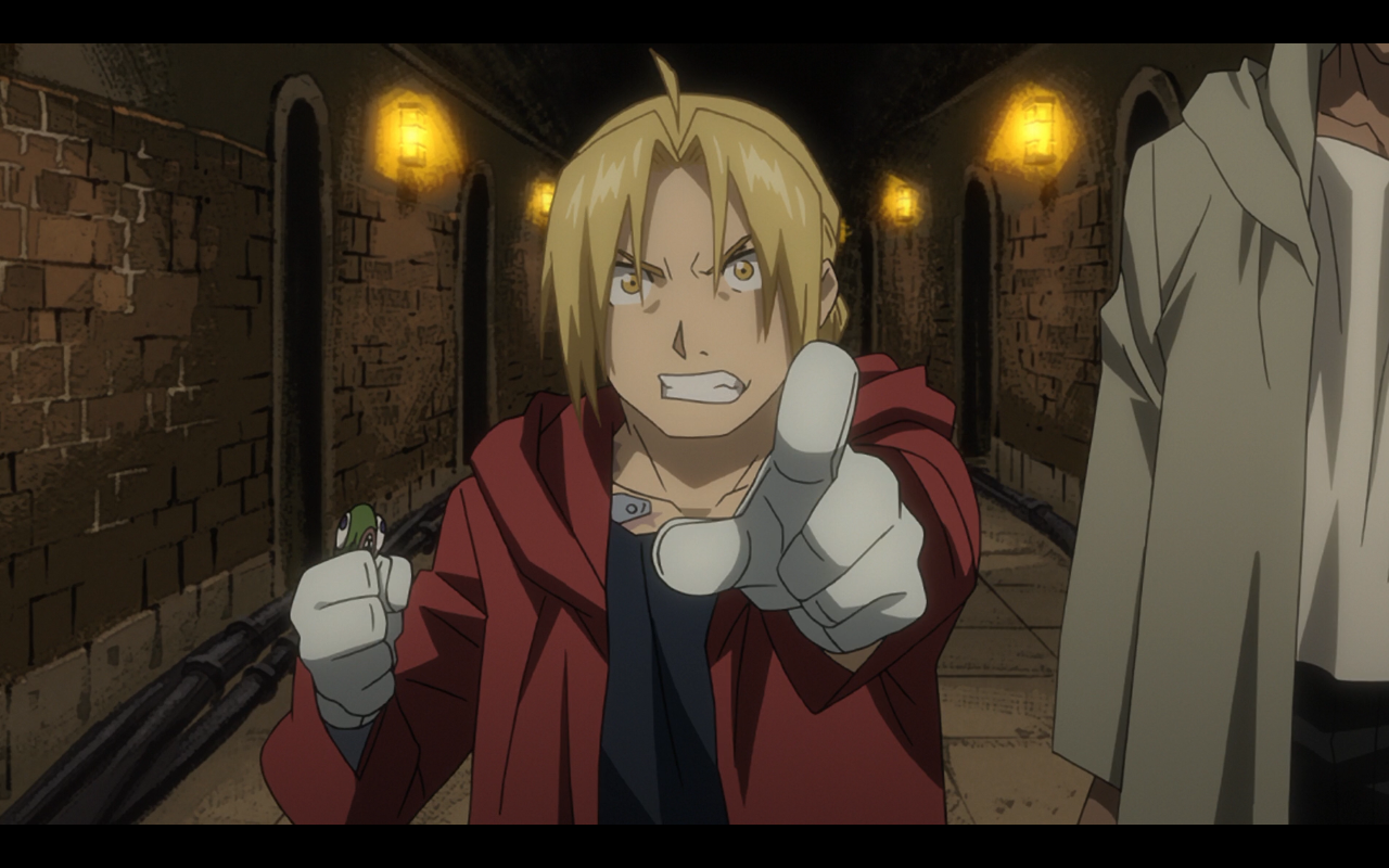 Edward ElricEdward Elric Brotherhood Older