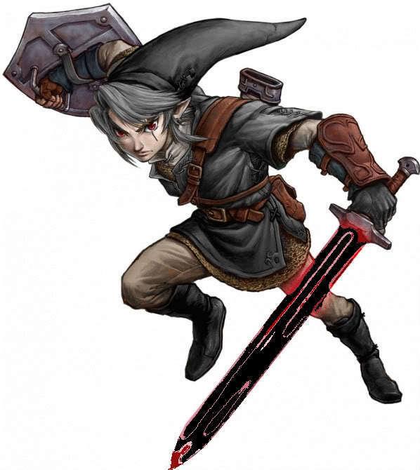 Legend Of Zelda Dark Link Vs Link Shadow Link - Ramuh s