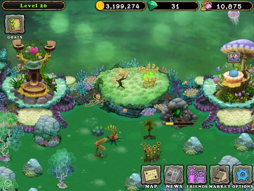 My Singing Monsters Wiki Navigation