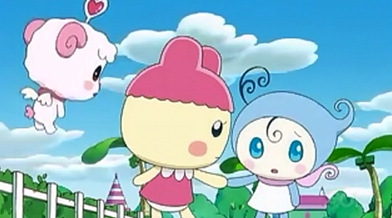 Hapihapitchi Helps Out    Tamagotchi Wikia