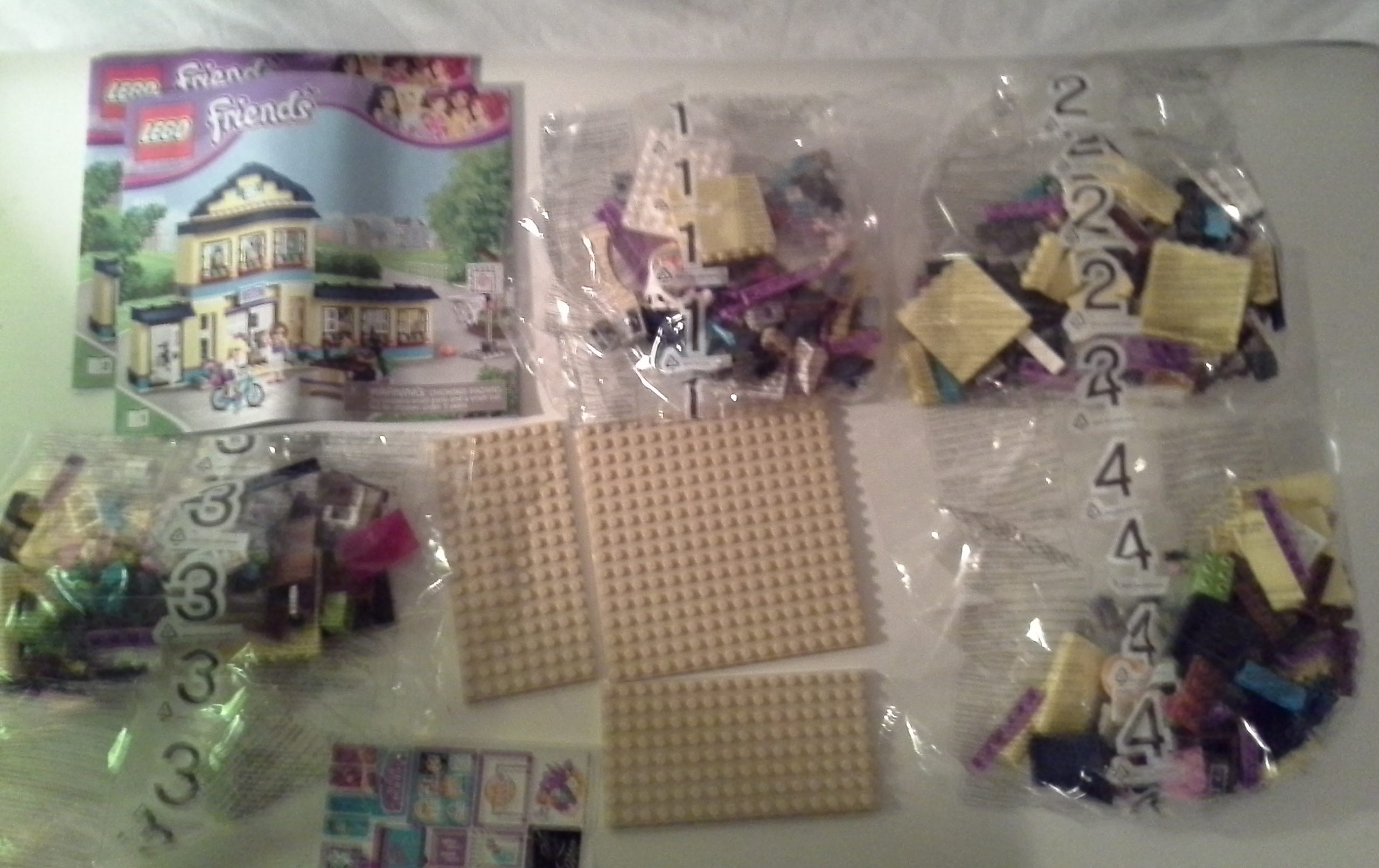 lego friends heartlake high instructions