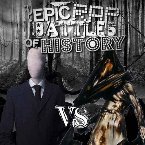 Slender man vs unwanted house guest rap battle