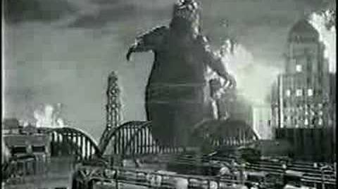 Godzilla 1985 Dr. Pepper Commercial 1