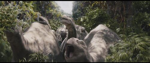 Brontosaurus King Kong Wiki Wikia