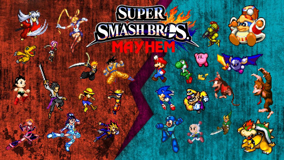 Super Smash Bros Mayhem Fantendo The Video Game Fanon Wiki